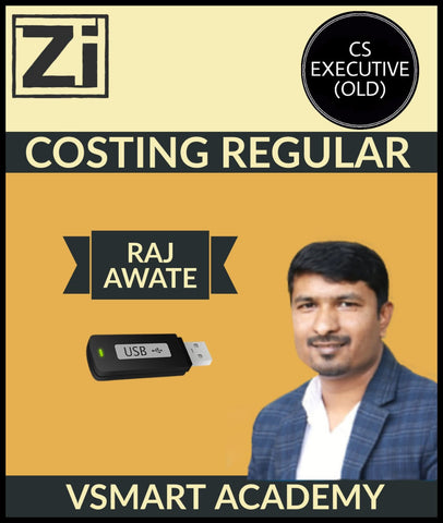 CS Executive (Old) Costing Regular Course By Raj Awate