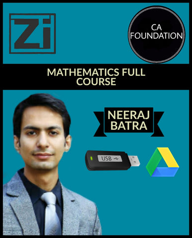 CA Foundation Mathematics Full Course Videos By CA Neeraj Batra - Zeroinfy