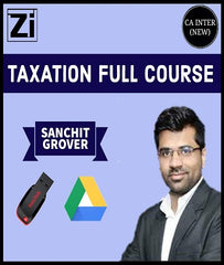 CA Inter Taxation Full Course Video Lectures by Sanchit Grover (New) - Zeroinfy