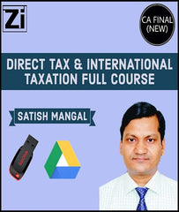 CA Final Direct Tax and International Tax Full Course By Satish Mangal (New) - Zeroinfy