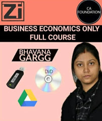 CA Foundation Business Economics Only Bhavana Gargg - Zeroinfy