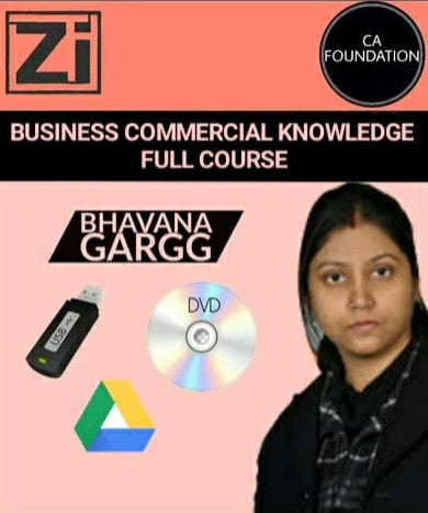 CA Foundation Business Commercial Knowledge Bhavana Gargg