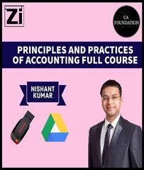 CA Foundation Principles And Practices Of Accounting Full Course Video Lectures By Nishant Kumar - Zeroinfy