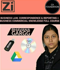 CA Foundation Business Law, BCR and BCK Full Course Videos Bhavana Gargg - Zeroinfy