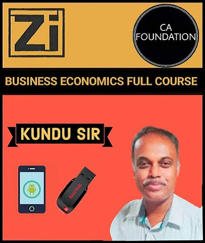 CA Foundation Business Economics Full Course By Kundu Sir - Zeroinfy