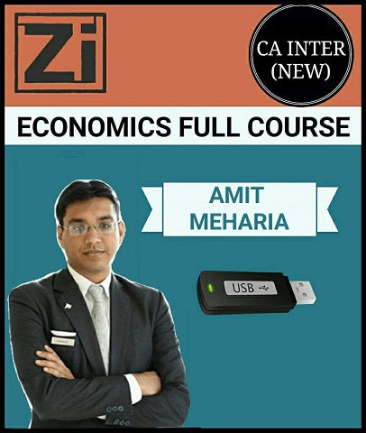 CA Inter Economics Full Course by Amit Meharia (New) - Zeroinfy