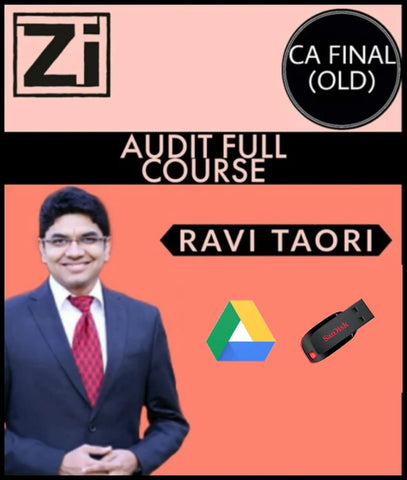 CA Final Audit Latest Recording Video Lectures By Ravi Taori (Old) - Zeroinfy