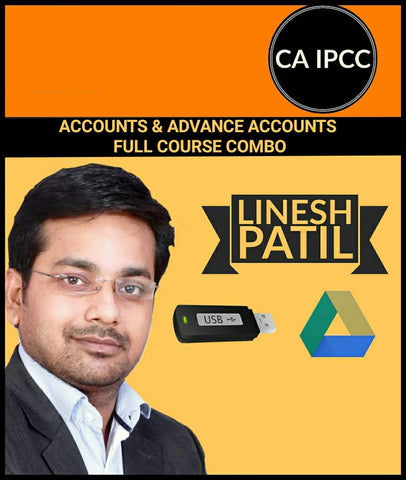 CA IPCC Accounts & Advanced Accounts Full Course Combo by Linesh Patil - Zeroinfy