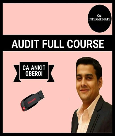 CA Inter Audit Full Course By Ankit Oberoi - Zeroinfy