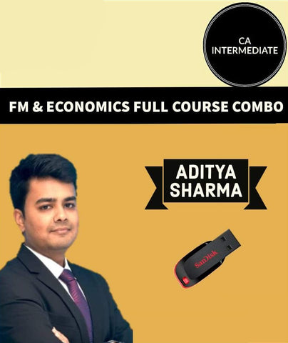 CA Inter FM And ECO Full Course By  Aditya Sharma - Zeroinfy