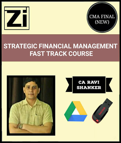 CMA Final Strategic Cost Management Fast Track Course Video By Ravi Shanker (New) - Zeroinfy