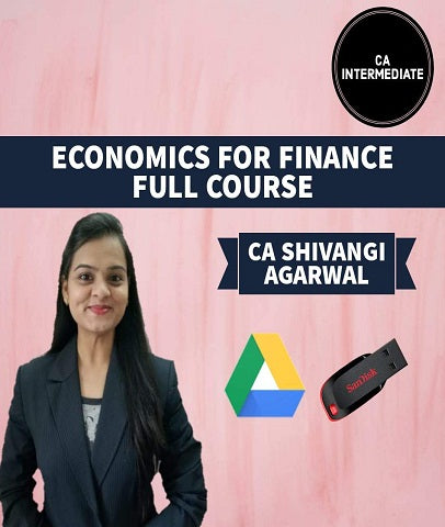 CA Intermediate Economic For Finance Full Course By Shivangi Agrawal - Zeroinfy