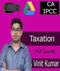 CA IPCC TAXATION Full Course By Vinit kumar - Zeroinfy