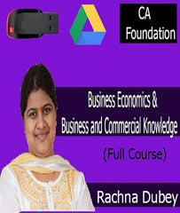 CA Foundation Business Economics and Business and Commercial Knowledge Full Course by CA Rachna Dubey by zeroinfy