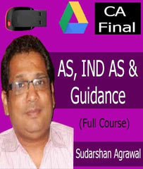 CA Final (Old) (FR) - AS, IND AS & Guidance Notes Videos By Sudarshan Agrawal - Zeroinfy