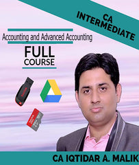 CA Intermediate Accounting and Advanced Accounting Full Combo Course Videos By Iqtidar A. Malik by zeroinfy