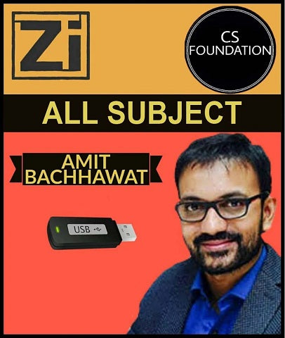 CS Foundation All Subject by Amit Bachhawat (New) - Zeroinfy