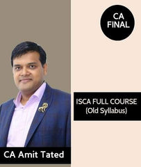 CA Final ISCA (Old Syllabus) Full Course By CA Amit Tated - Zeroinfy