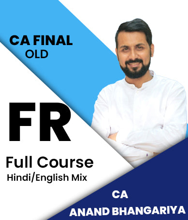 CA Final Financial Reporting Full Course By CA Anand Bhangariya (Old) - Zeroinfy