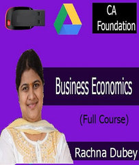 CA Foundation Business Economics Full Course by CA Rachna Dubey - Zeroinfy