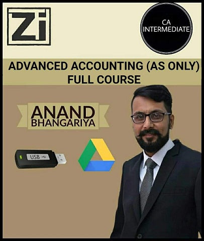 CA Inter Advanced Accounting (AS Only) Full Course By Anand Bhangariya (New) - Zeroinfy