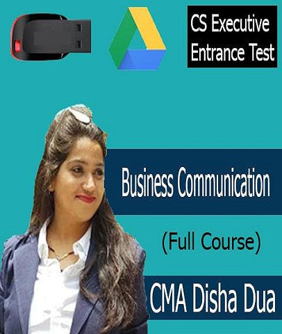 CSEET Business Communication Full Course By CMA Disha Dua - Zeroinfy