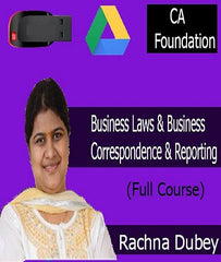CA Foundation Business Laws and Business Correspondence and Reporting Full Course by CA Rachna Dubey by Zeroinfy