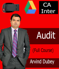 CA Inter Audit Full Course Video by CA Arvind Dubey - Zeroinfy