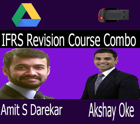 IFRS Revision By CA Amit S Darekar and CA Akshay Oke - Zeroinfy