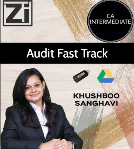 CA Inter/IPCC Audit Fast Track Course by CA Khushboo Sanghavi (Old/New) - Zeroinfy