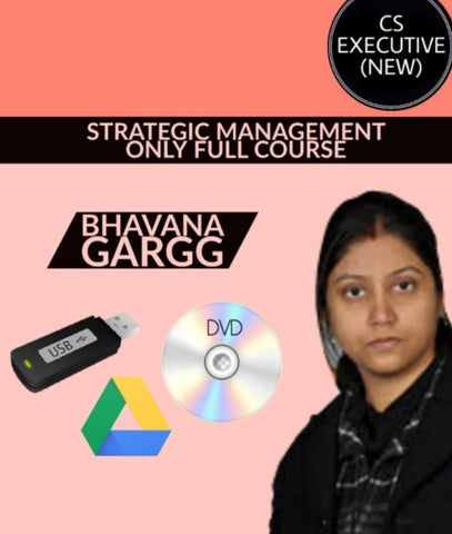 CS Executive (New) Strategic Management Only Full Course Video Lectures By Bhavana Gargg - Zeroinfy