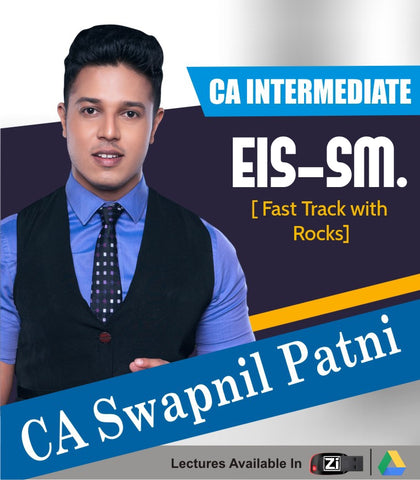 CA Intermediate EIS SM Fast Track With Rocks By CA Swapnil Patni - Zeroinfy