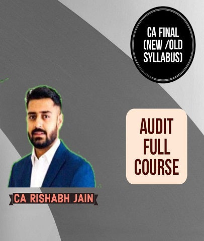 CA Final Audit Full Course By CA Rishabh Jain (New/Old) by Zeroinfy