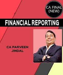 CA Final Financial Reporting Full Course By Parveen Jindal - 12 Months (New) - Zeroinfy