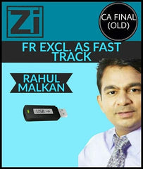 CA Final (Old) Financial Reporting (FR) Excl. AS Fast Track Videos By Rahul Malkan - Zeroinfy