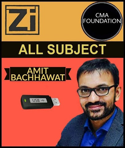 CMA Foundation All subject by Amit Bachhawat (New) - Zeroinfy