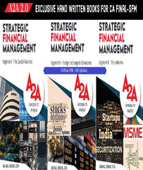 CA Final Old SFM A2A 2.0 (Amateur to Analyst) Books By CFA Kunal Doshi - Zeroinfy