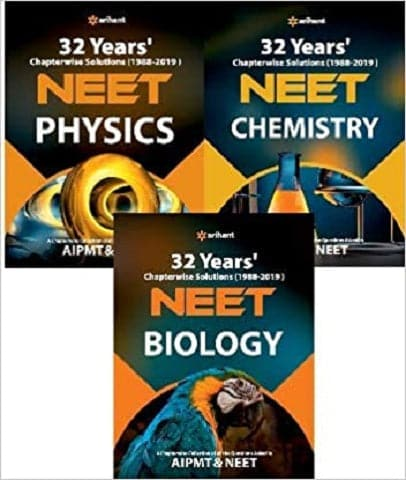 32 Years NEET Chapter-wise & Topic-wise Solved Papers PCB (2019 - 1988) by Arihant Experts - Zeroinfy