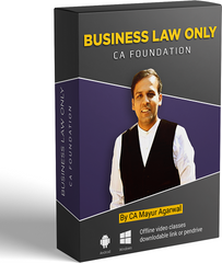 CA Foundation Business Law Full Course By CA Mayur Agarwal - Zeroinfy