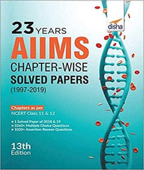 23 years AIIMS Chapter-wise Solved Papers (1997-2019) by Disha Experts - Zeroinfy