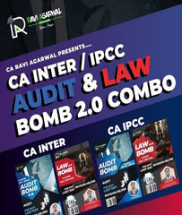 CA Inter / IPCC Law and Audit Bomb Combo 2.0 By CA Ravi Agarwal for May 21 / Nov 21 - Zeroinfy