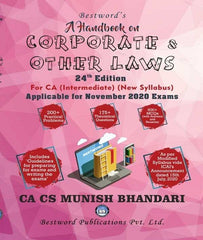 CA Inter Handbook On Corporate and other Laws by CA Munish Bhandari for Nov 2020 - Zeroinfy