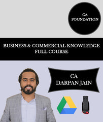 CA Foundation Business and Commercial Knowledge Full Course By CA Darpan Jain - Zeroinfy