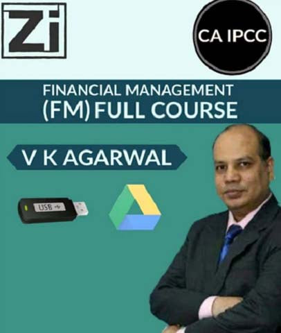 CA IPCC Financial Management (FM) Full Course Videos By Vinod Kr. Agarwal (Hindi)