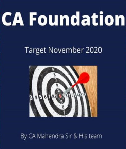 CA Foundation All Subjects Combo By IPA Institute - Zeroinfy