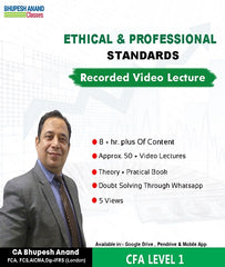 CFA Program Coaching Level 1 Ethics Full Course By Bhupesh Anand - Zeroinfy