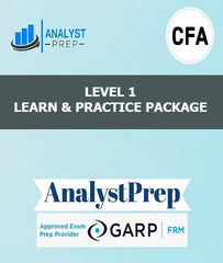 CFA Level 1 Learn and Practice Package by AnalystPrep - Zeroinfy