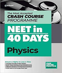 40 Days Crash Course for NEET Physics By Arihant Experts - Zeroinfy