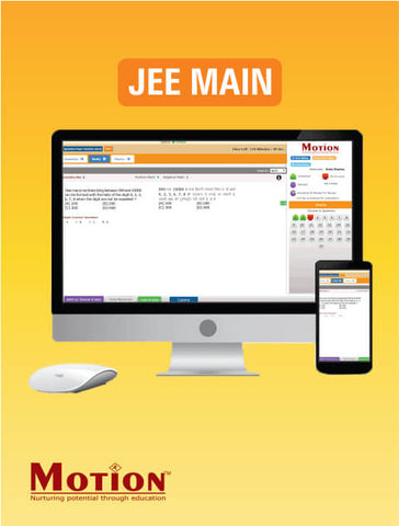 IIT JEE Main Online Test Series By Motion Education