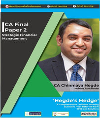 CA Final SFM Comprehensive Book Set By CA Chinmaya Hegde (New/Old) - Zeroinfy